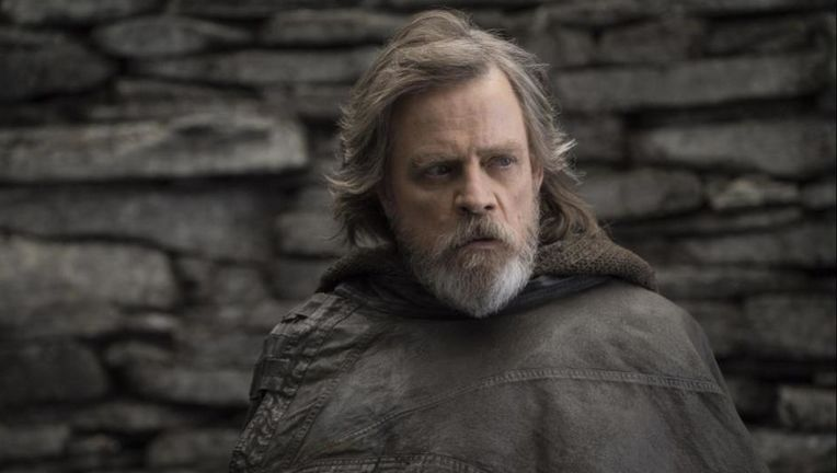 Mark Hamill in Star Wars The Last Jedi