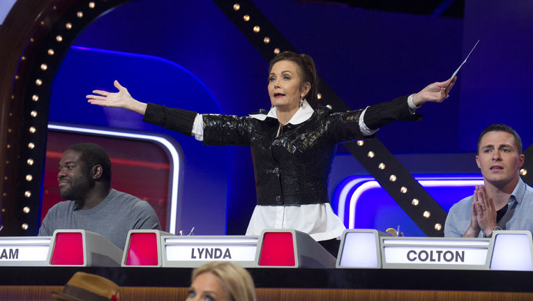 Match Game - Lynda Carter and Colton Haynes