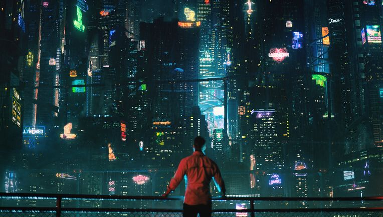 Altered Carbon cityscape