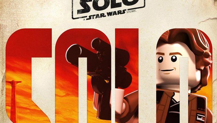 Lego Solo poster Han Solo
