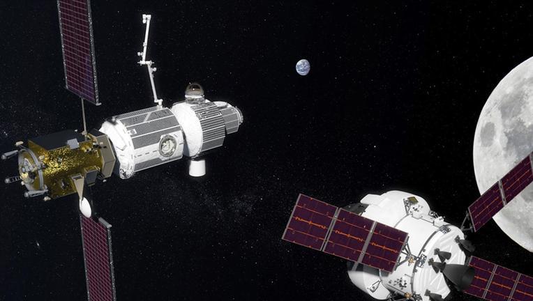 NASA Lunar Orbital Platform-Gateway
