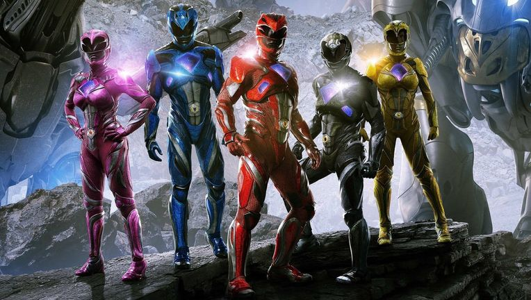 Power Rangers team