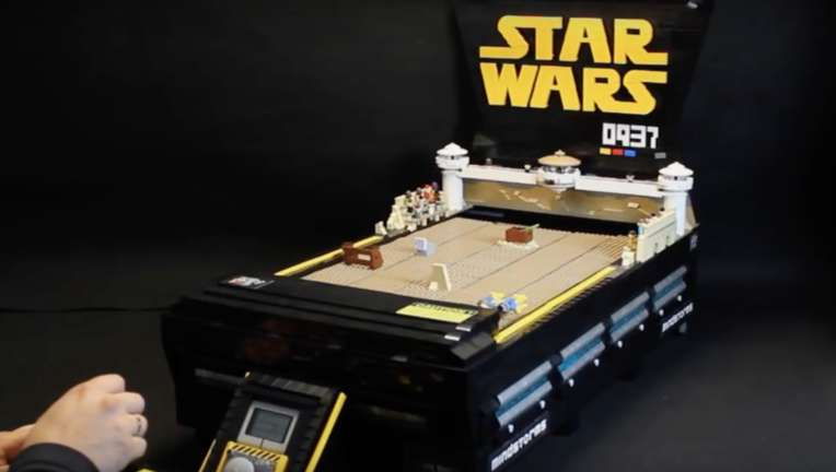 Star Wars- Lego podrace tabletop game