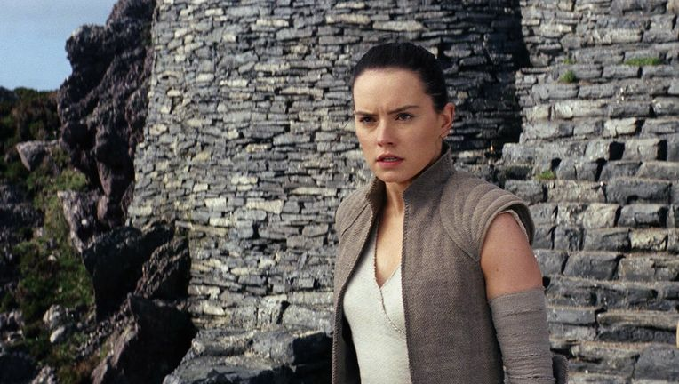 Star Wars: The Last Jedi- Daisy Ridley as Rey