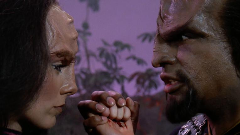 Klingon mating ritual, Star Trek: The Next Generation