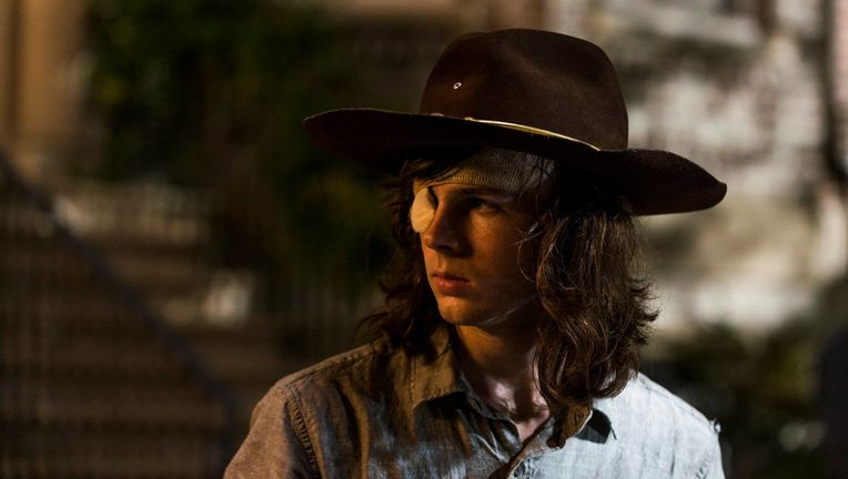 walking dead carl chandler riggs