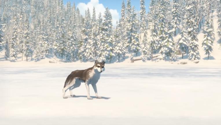 White Fang wolf