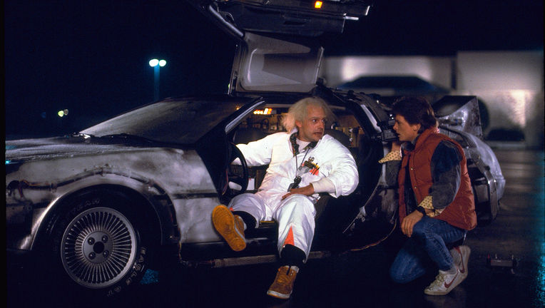 Delorean, Back to the Future
