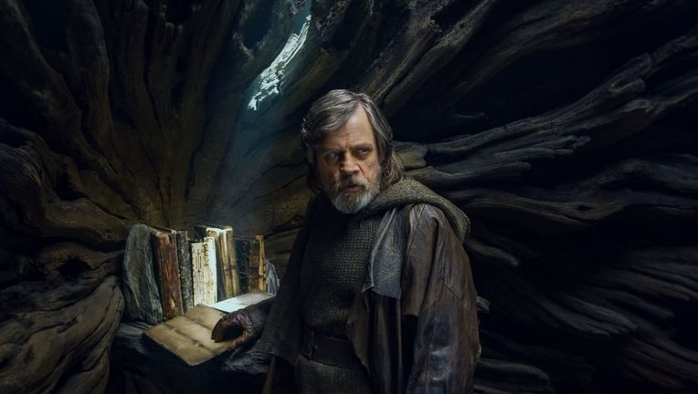 Star Wars The Last Jedi, Luke Skywalker