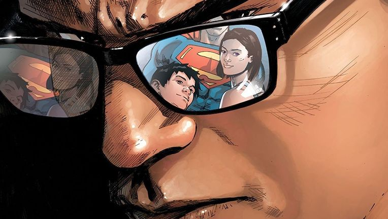 Action Comics Clark Kent Hero Image