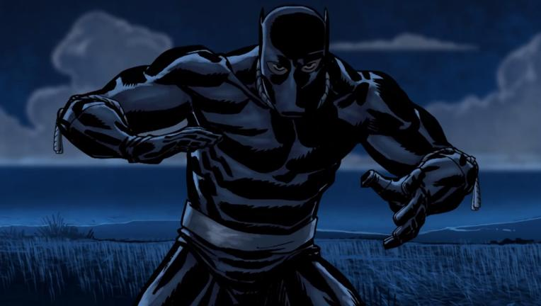 black panther Bet animated series