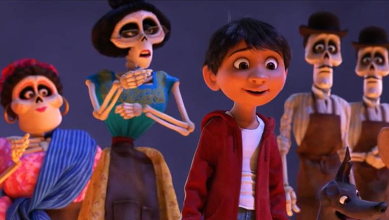 scene from Disney/Pixar's Coco