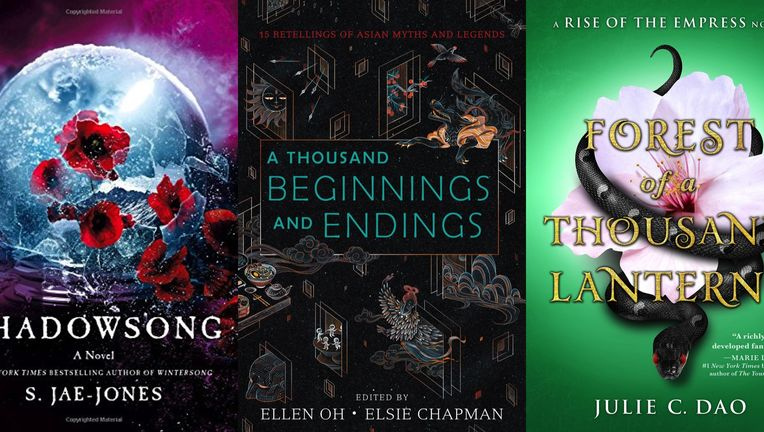 cover image for myth retellings