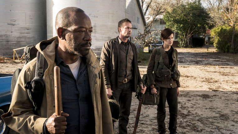 Fear the Walking Dead Season 4 Morgan, John, Althea