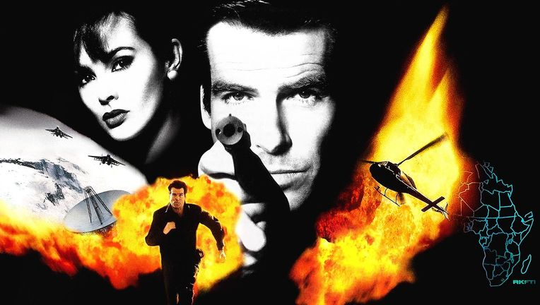 GoldenEye 007 video game hero