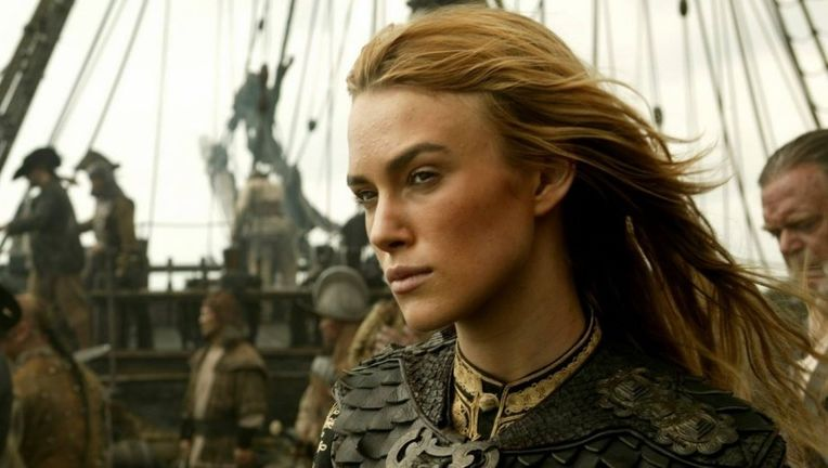 Keira Knightley Pirates of the Caribbean Dead Men Tell No Tales