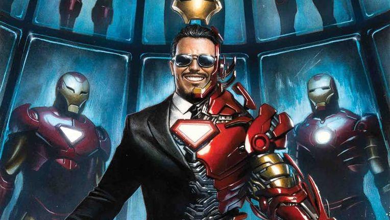 Marvel Comics Iron Man 1 Variant Cover