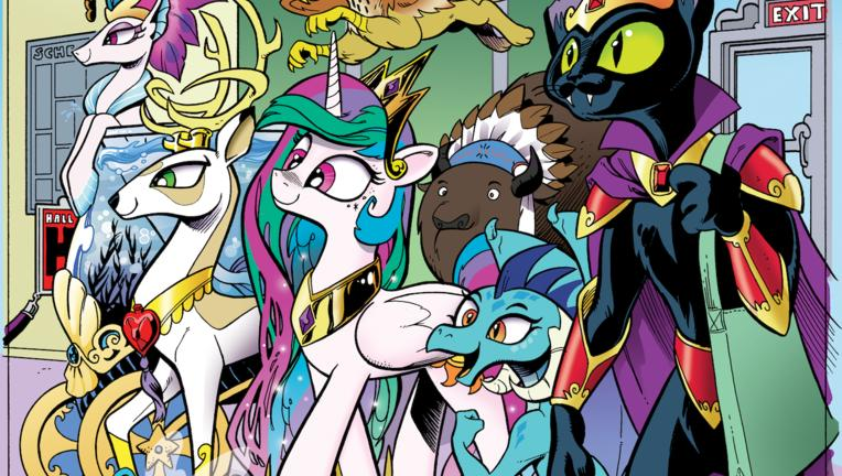My Little Pony comics cover