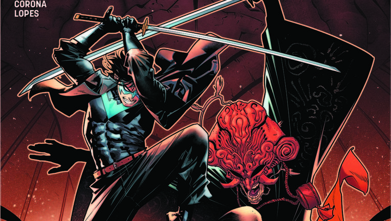 nightwing #42 main cover
