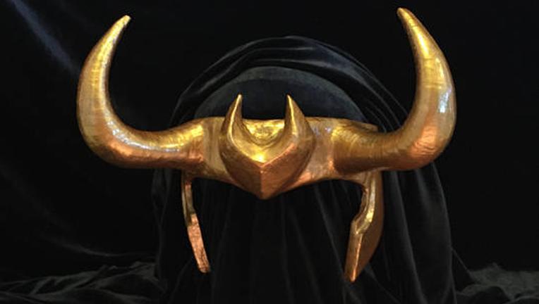 Loki helmet by The Potions Mistress