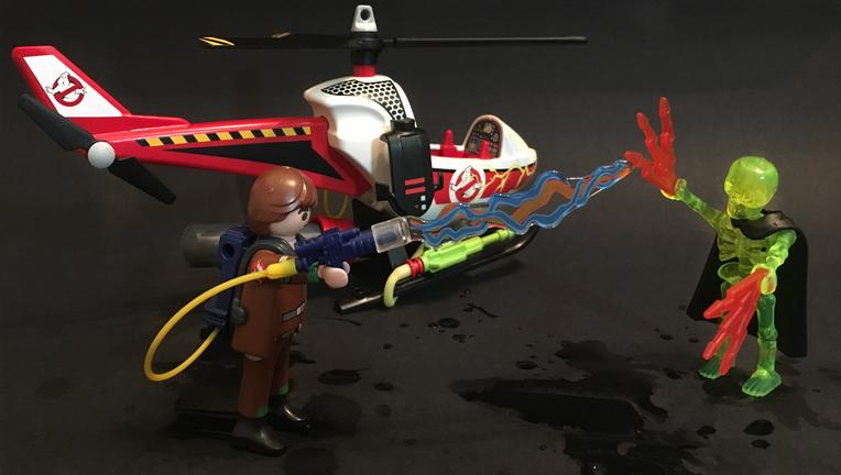 Playmobil The Real Ghostbusters Venkman Mission Pack