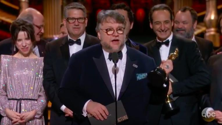 Shape of Water, Best Picture, Oscars