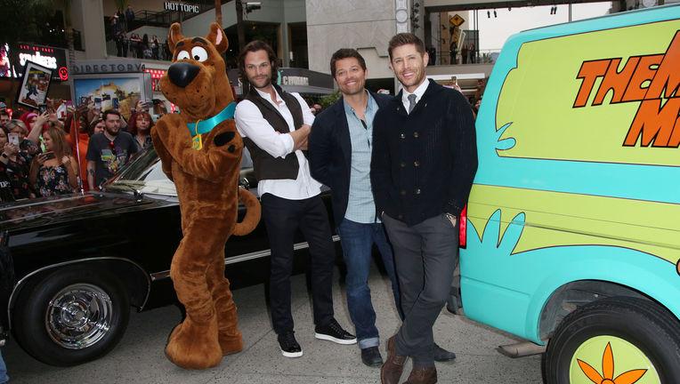 Supernatural, Scooby Doo - Jared Padelecki, Jensen Ackles, Mischa Collins.jpg
