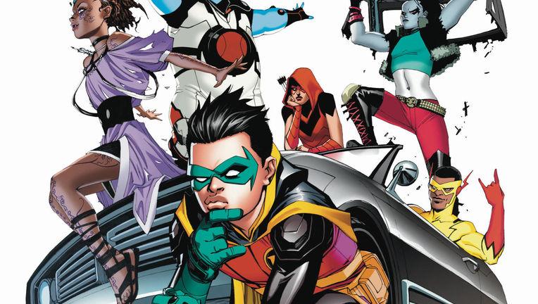 Teen Titans New Roster Art by Bernard Chang Hero