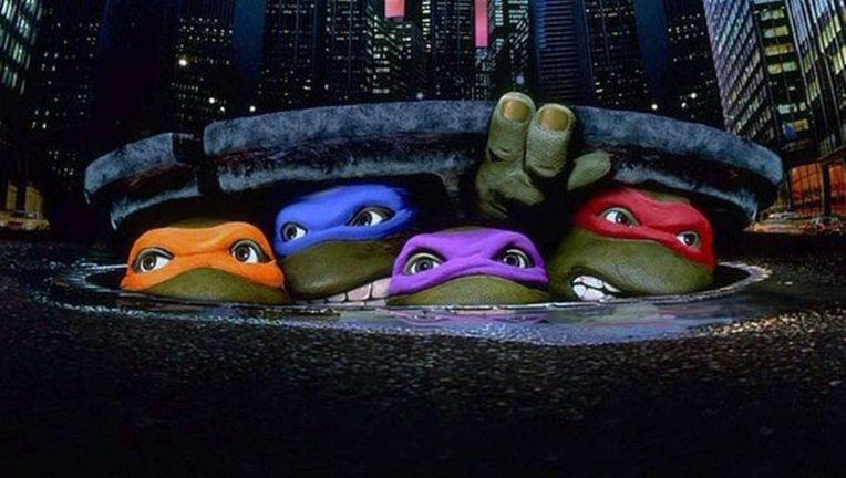teenage mutant ninja turtles 1990 movie poster