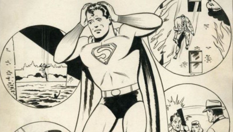 Superman Lost Story by Jerry Siegel and Joe Shuster HERO