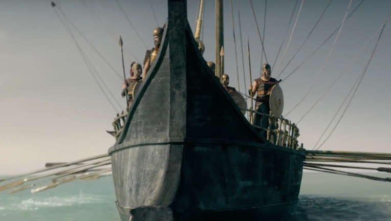 Troy: Fall of a City- Sailing ship
