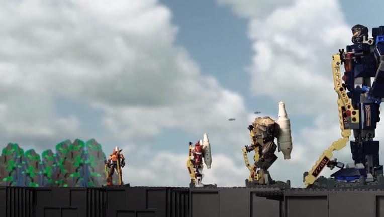 LEGO Pacific Rim Uprising