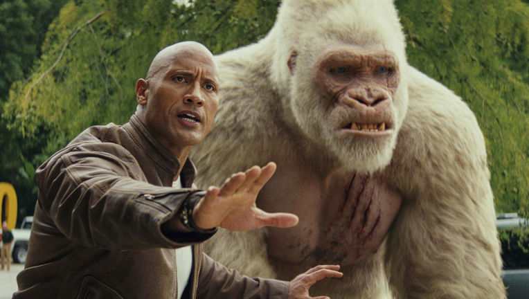 The Rock, Rampage