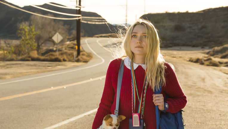 Please Stand By - Dakota Fanning and Pete the dog