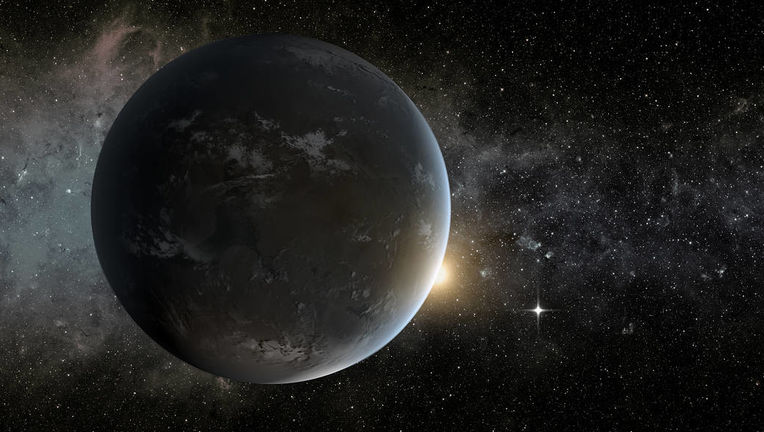 NASA image of a super-Earth