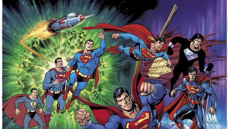 Action Comics #1000 Variant Cover by Dan Jurgens