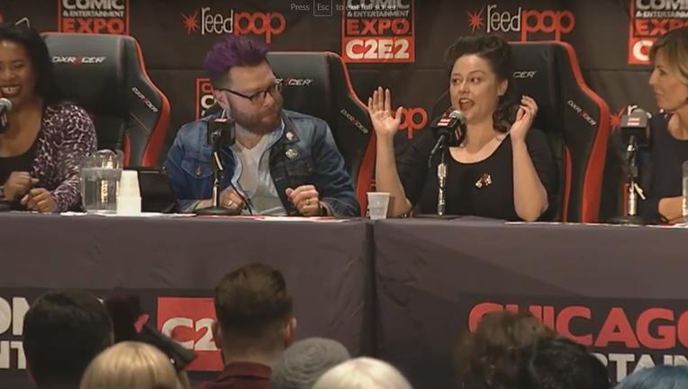An Evening With Travis McElroy SYFY WIRE Panel Screengrab