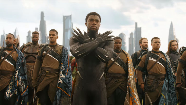 Avengers Infinity War Wakanda