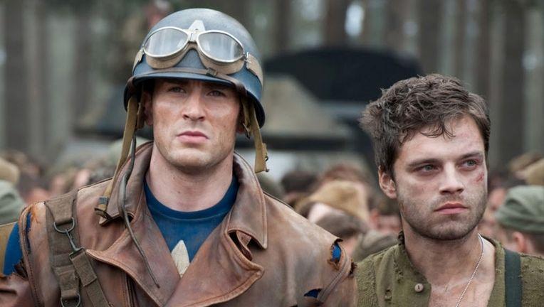 Steve Rogers, Bucky Barnes — Captain America