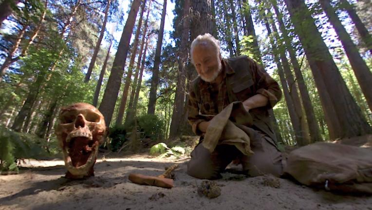 Campfire Creepers episode Skull of Sam - Robert Englund