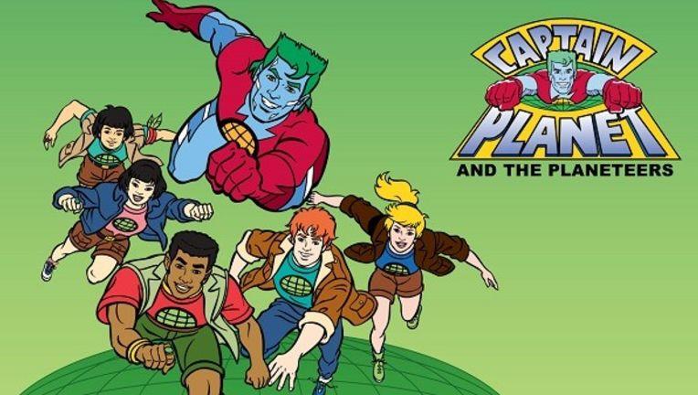 Captain Planet Cast