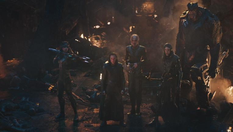 Children of Thanos, Black Order, Avengers: Infinity War
