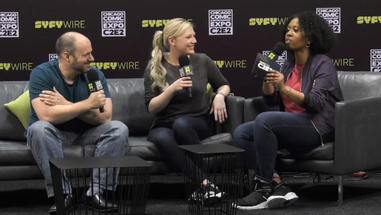 DC Comics Tom King And Joelle Jones SYFY WIRE C2E2 Interview Screengrab2
