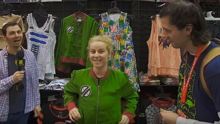 Emerald City Comic Con VR 180 SYFY WIRE screengrab2