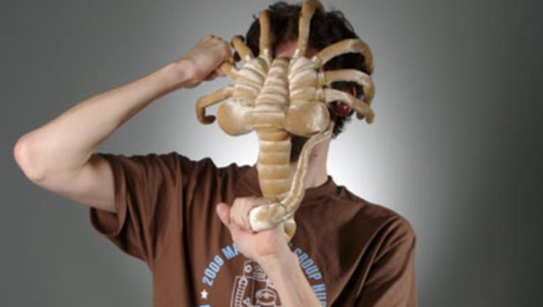 ThinkGeek Alien Facehugger plush