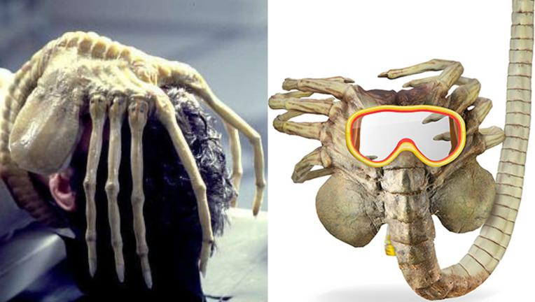 Think Geek Alien Facehugger mask