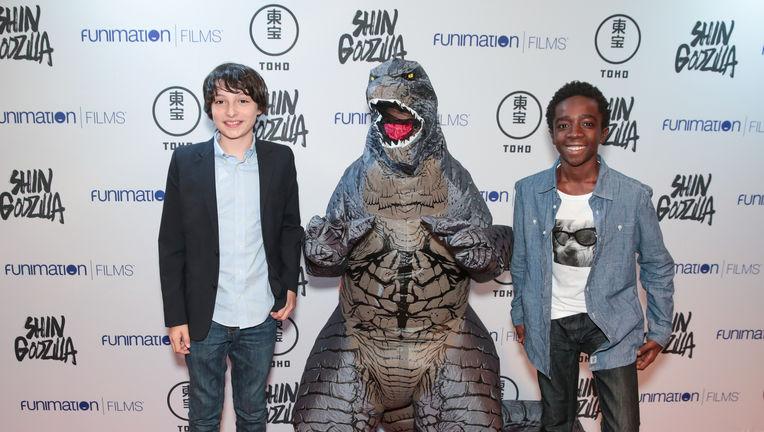 Godzilla Stranger Things