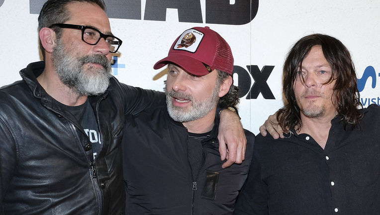 Jeffrey Dean Morgan, Andrew Lincoln, Norman Reedus, The Walking Dead