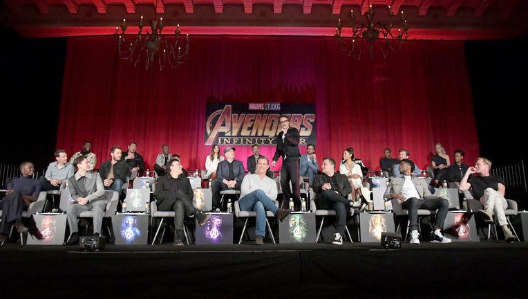 Avengers junket