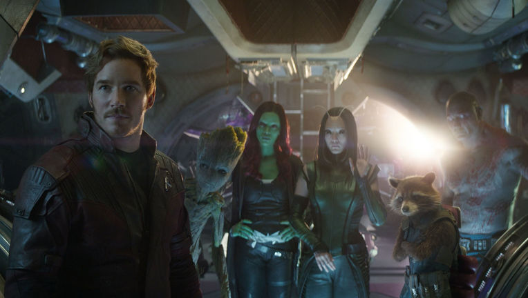 Guardians of the Galaxy in Avengers: Infinity War